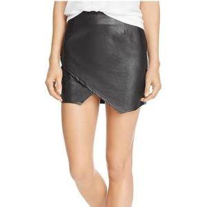 Splendid Faux leather skirt